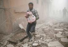 Syrian child killed