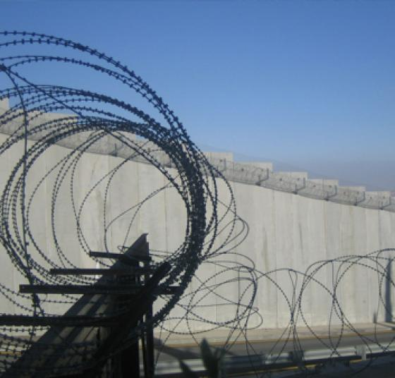 Wall around Palestine