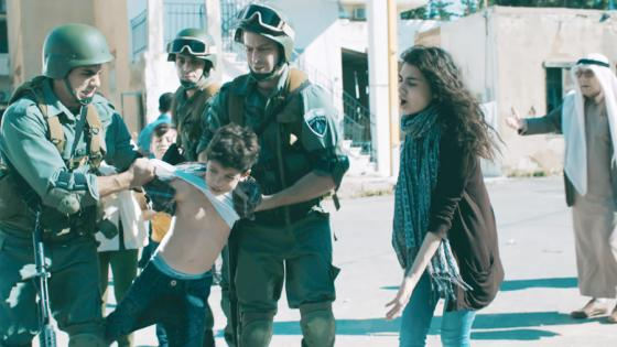 Children being taken by Israelis in Palestine