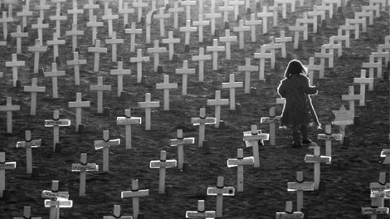 Girl's graveyard