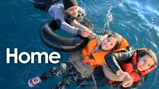 syrian refugees in the sea