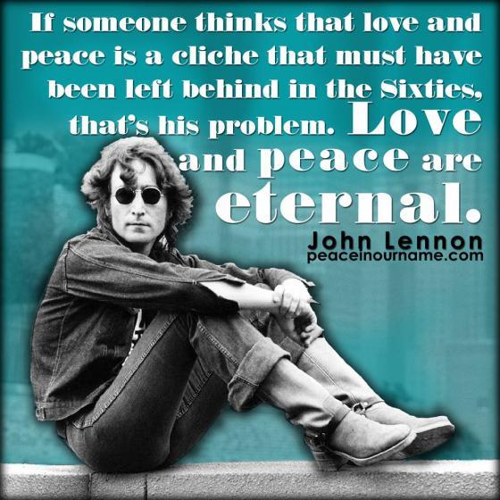 John Lennon Peace in our name