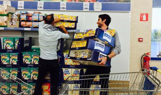 Buying medical supplies for Syrian refugees
