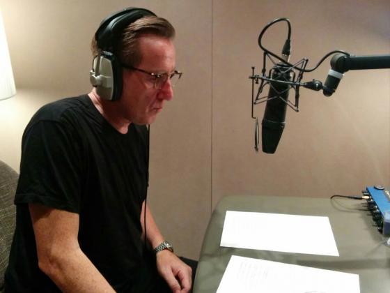 Recording the pro-peace CD
