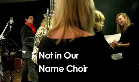 Not in Our Name Choir