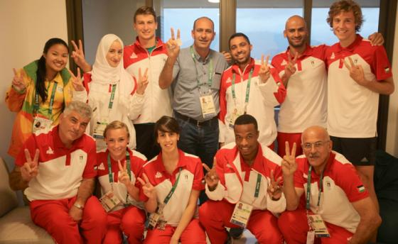 Palestinian Olypic team