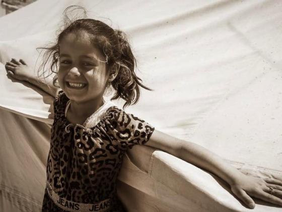 Palestininian child in ghetto