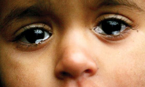 Weeping Iraqi child