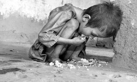 Starving orphan