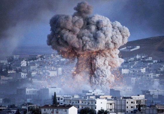 bombing Syria the shame of the west