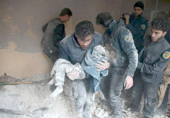 Syrian people are victims of greed