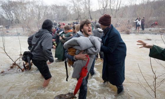 syrians desperate to find safety