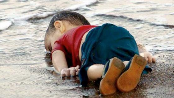 Drowned child