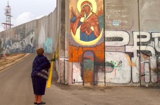 Wall around Bethlehem