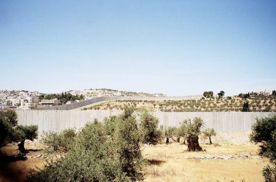 Wall around Gaza